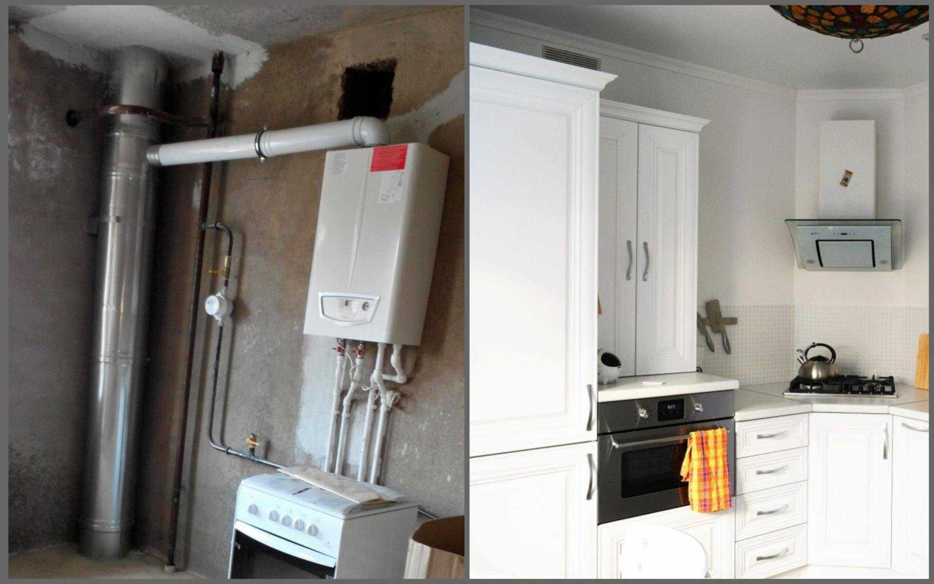 Требования к газовому котлу на кухне