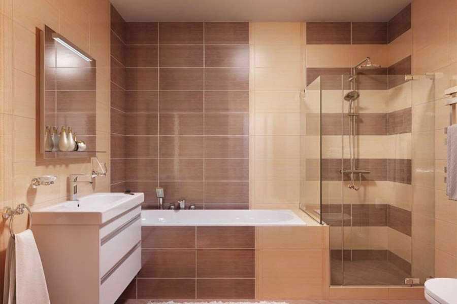 Подберем плитку для ванной комнаты правильно