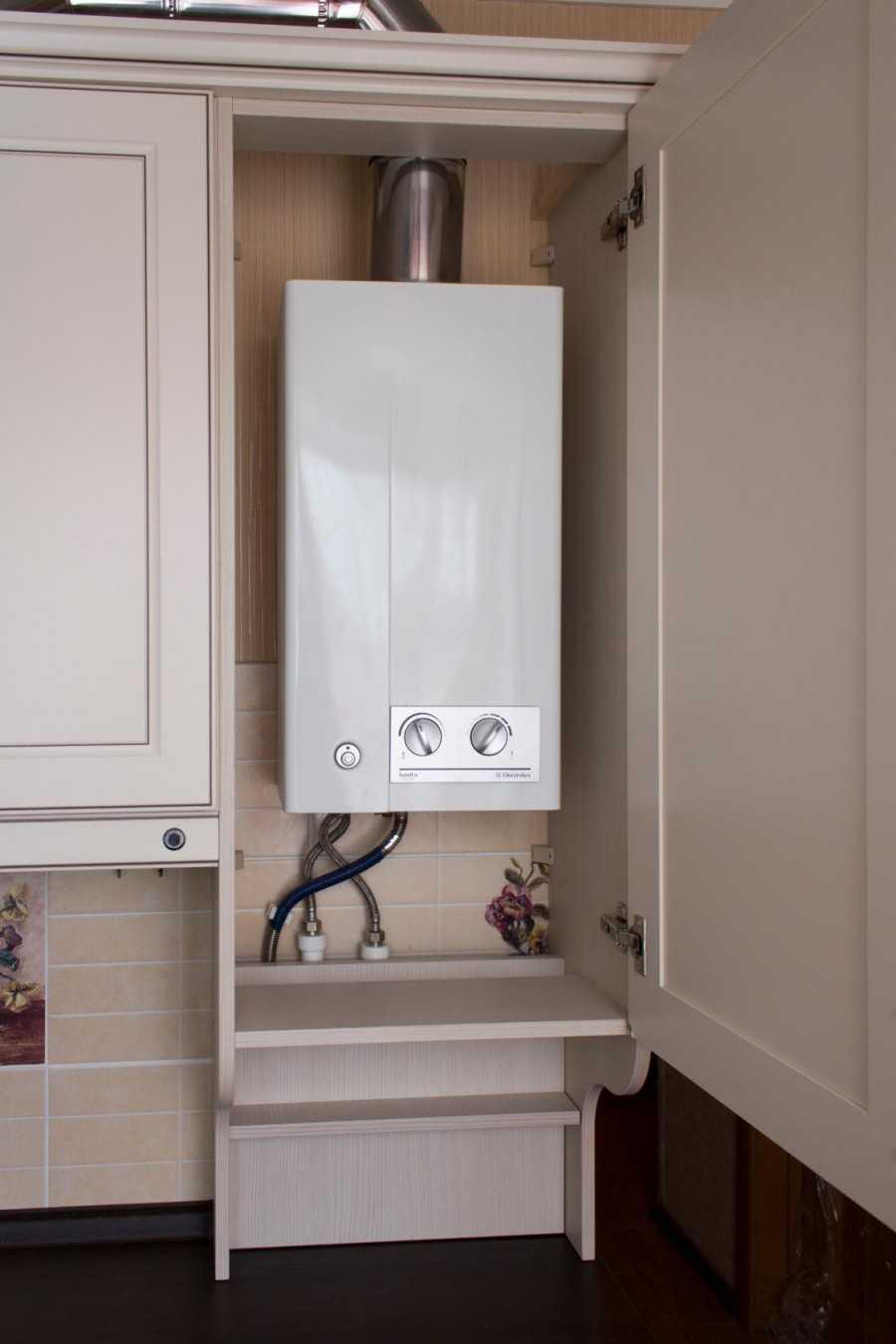 Дизайн вашей квартиры и газовый котел: как спрятать прибор? правила, идеи и фото